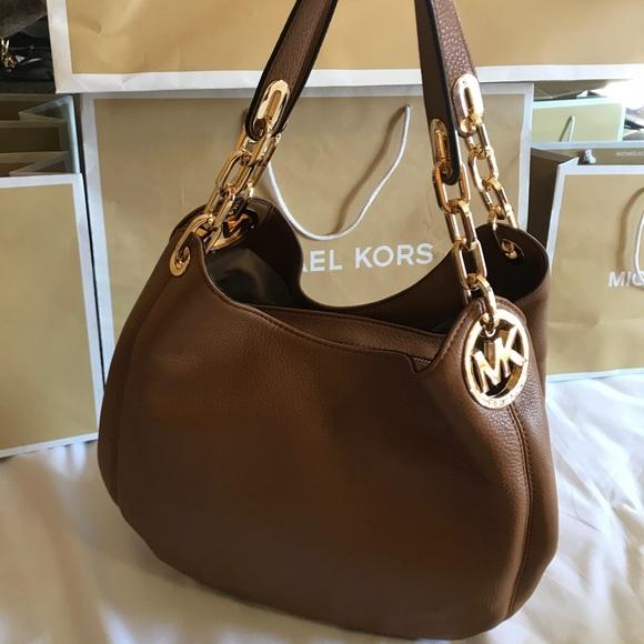 3f82fb41d576 Michael Kors Bags | New 398 Fulton Mk Handbag Large Bag | Poshmark
